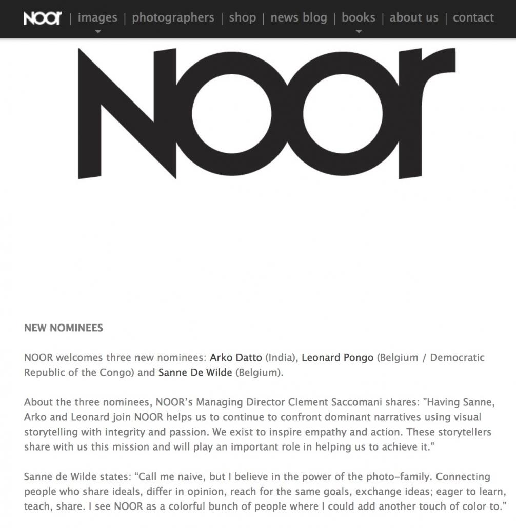 annoucement at NOORimages.com